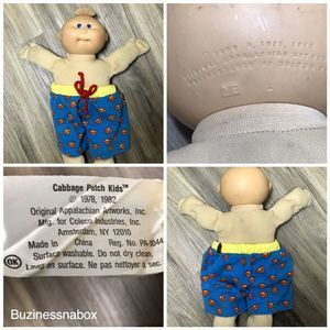Vtg 1978 1982 Cabbage Patch Doll